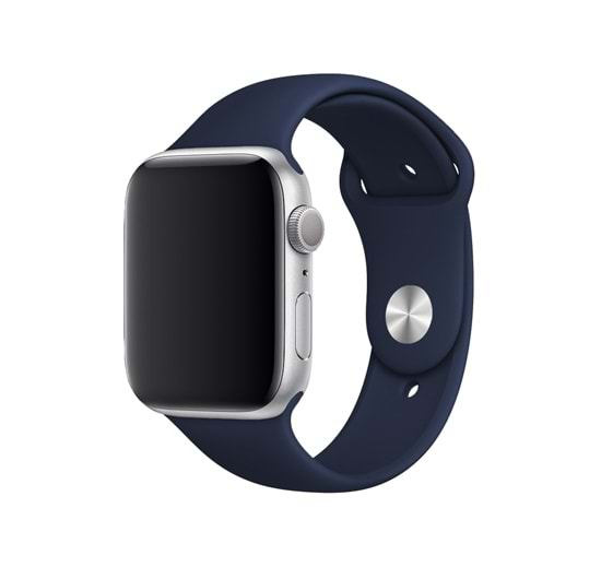APPLE WATCH SİLİKON KORDON - LACİVERT - 42/44